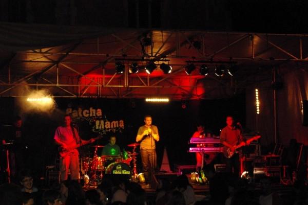 Concert de Patcha Mama aux fêtes d'Hasparren